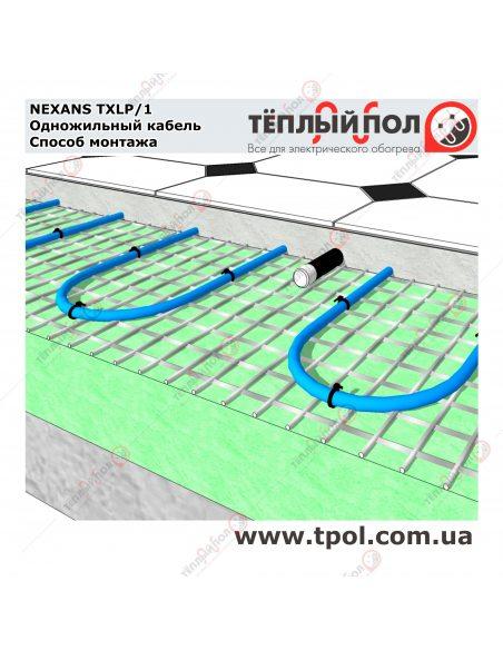 (2,5-2,9 м²) TXLP/1 400/17 ☀ Теплый пол