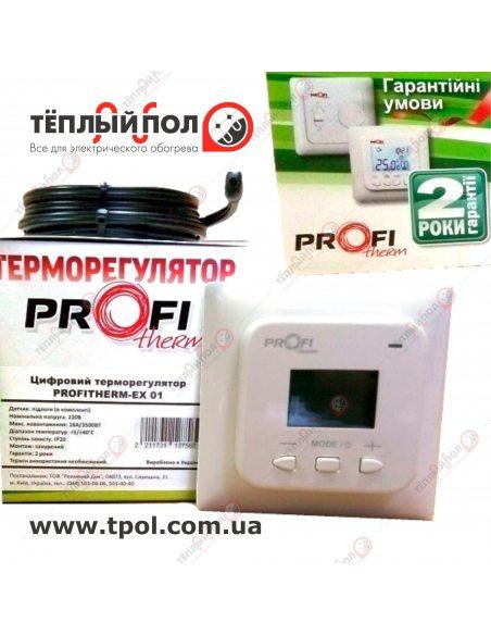 PROFiTherm EX01 (терморегулятор цифровой) с датчиком температуры пола - упаковка - внешний вид