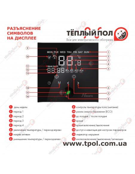Millitemp 2 BREATH - Терморегулятор -  Назначение кнопок