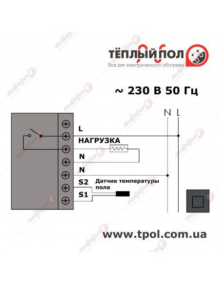 Millitemp 2 BREATH - Терморегулятор -  Схема подключения