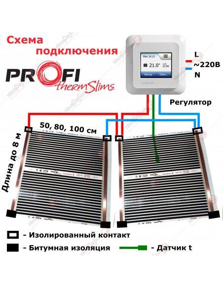 Битумная изоляция для ИК пленки (3,8х5 см)