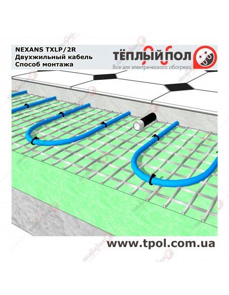(9,9-10,6 м²) TXLP/2R 1500/17 ☀ Теплый пол