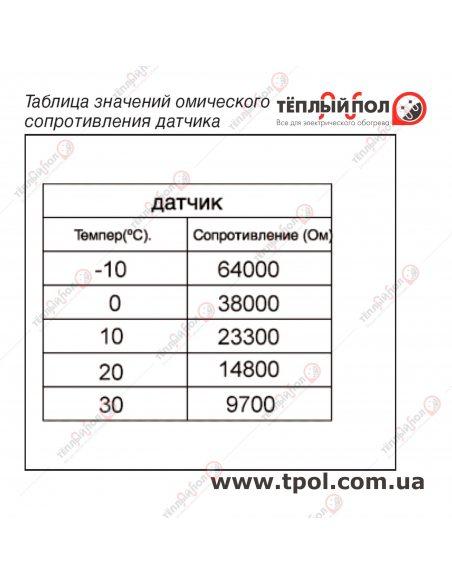 OCD6-1999 параметры датчика теплого пола