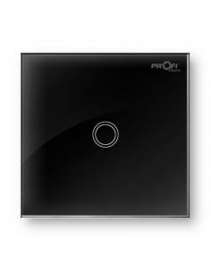 Выключатель сенсорный Profi therm 1TP, Elegant Black