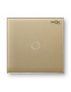 Выключатель сенсорный Profi therm 1TP, Pure Gold