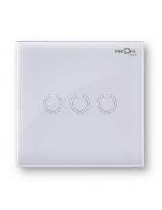 Выключатель сенсорный Profi therm 3TP, Snow White
